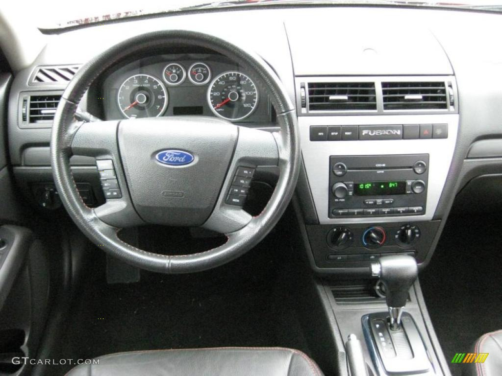 2007 ford fusion se dashboard photos