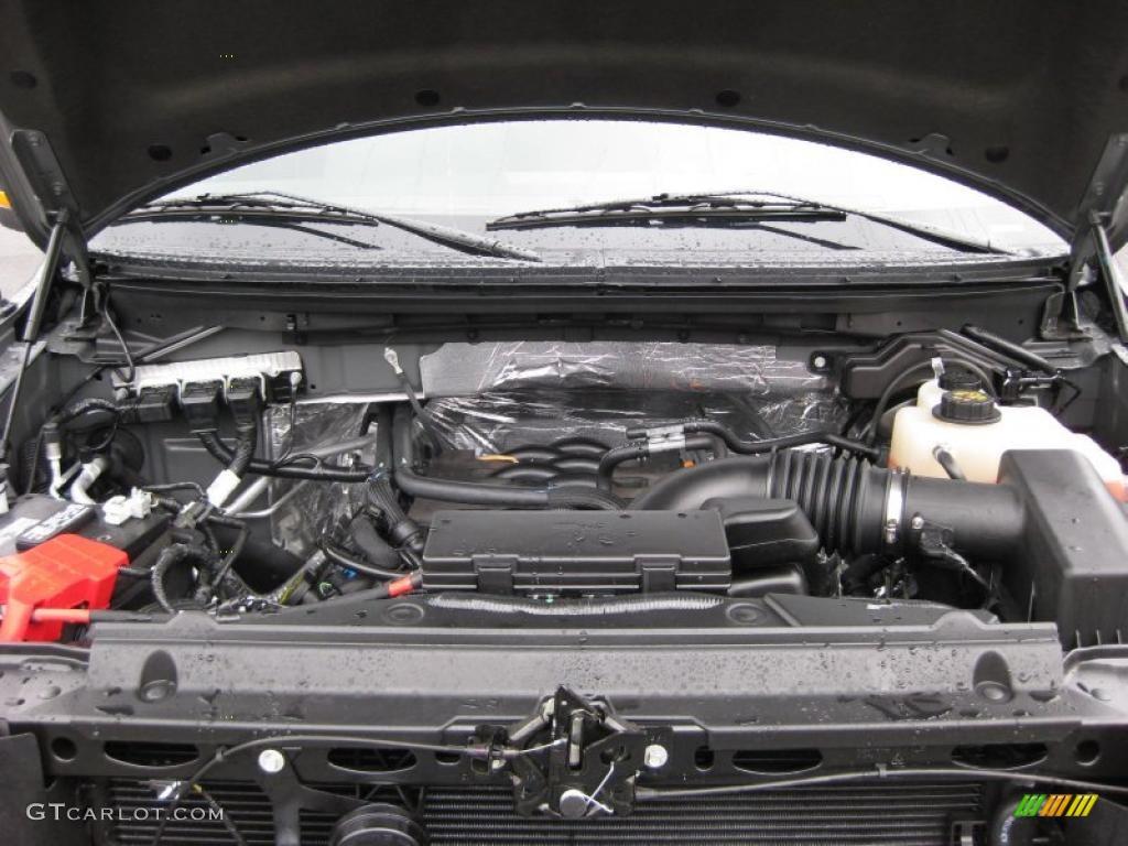 2011 ford f150 xlt supercab 4x4 5 0 liter flex fuel dohc for Motor ford f150 v8