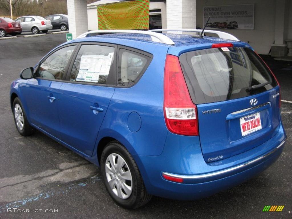 2011 Vivid Blue Hyundai Elantra Touring Gls 42313885