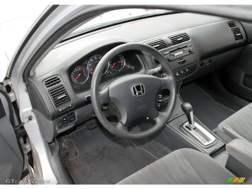 Gray Interior 2004 Honda Civic Ex Sedan Photo 42321783 Gtcarlot Com
