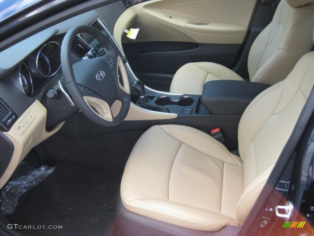 Camel Interior 2011 Hyundai Sonata Limited 2 0t Photo 42323679