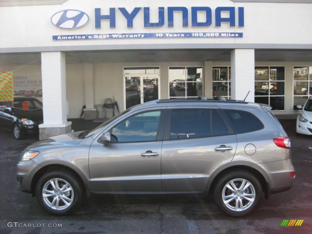 2011 Hyundai Santa Fe Gray 200 Interior And Exterior Images