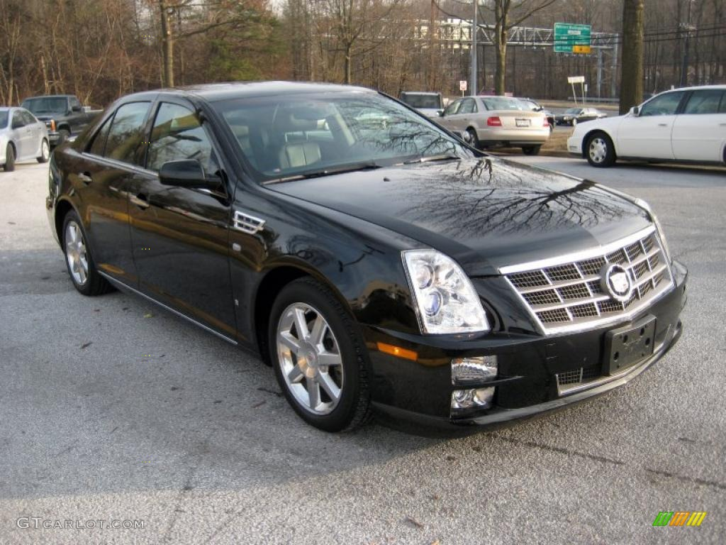 black raven 2008 cadillac sts v8 exterior photo 42324431. Black Bedroom Furniture Sets. Home Design Ideas