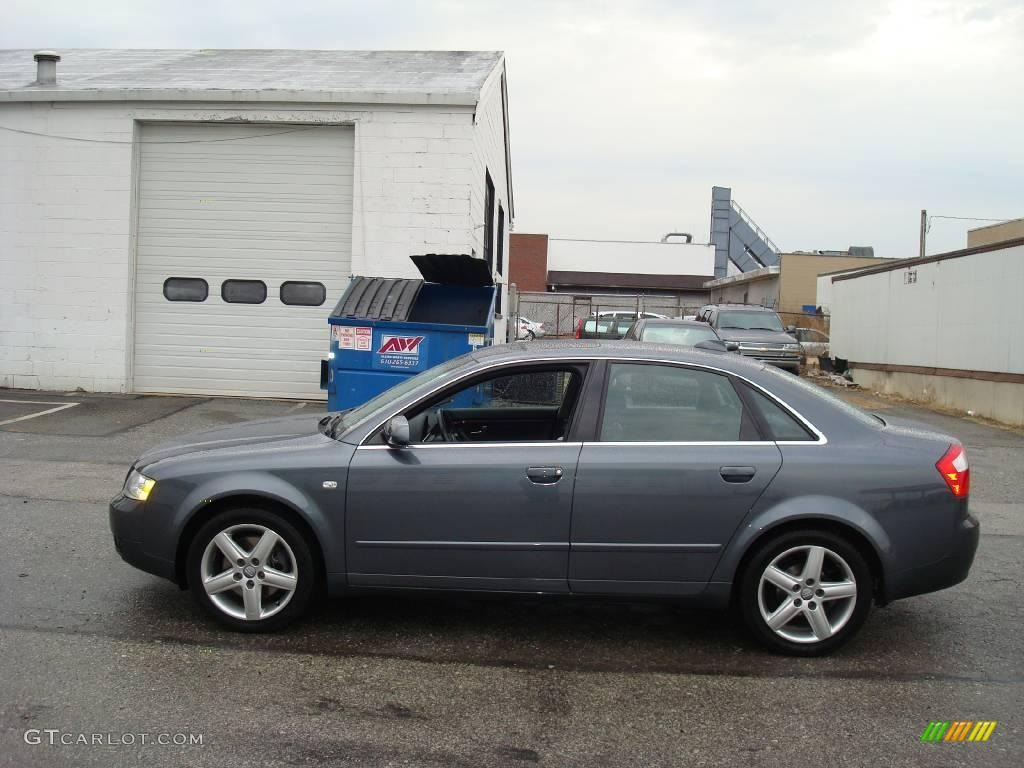 2004 dolphin grey metallic audi a4 3 0 quattro sedan 4217538 car color galleries. Black Bedroom Furniture Sets. Home Design Ideas