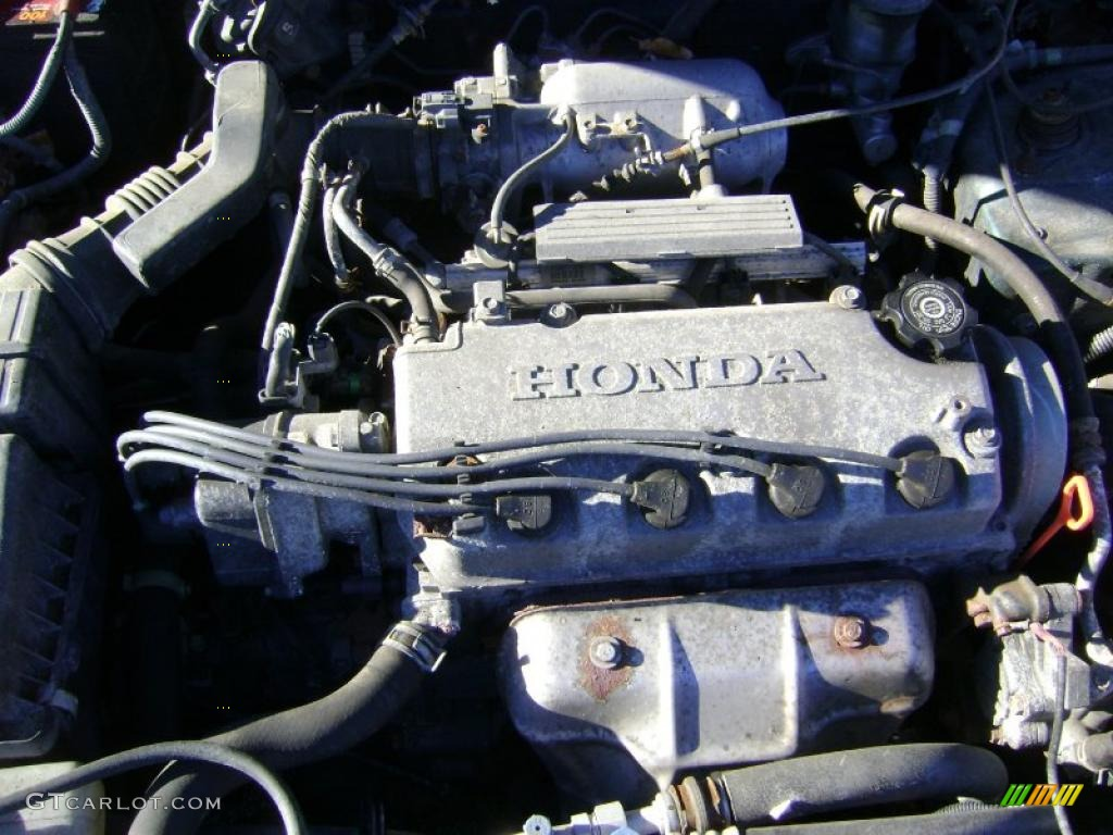 2000 honda civic ex coupe 1 6 liter sohc 16 valve 4 cylinder engine photo 42332959. Black Bedroom Furniture Sets. Home Design Ideas