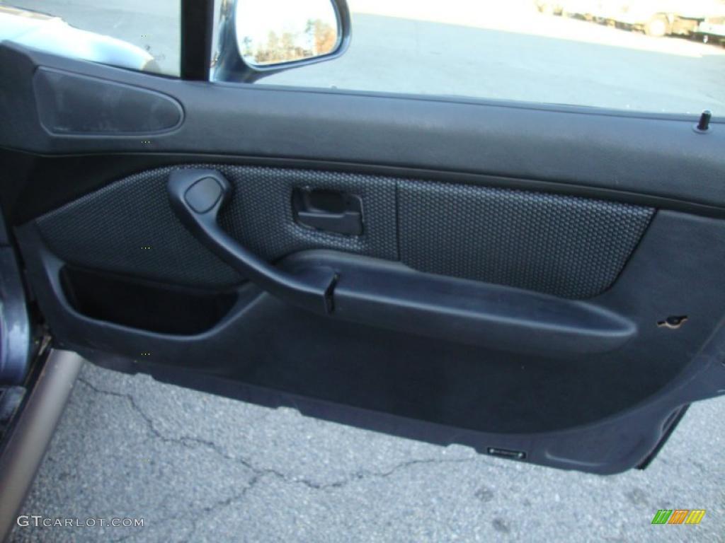 2000 bmw z3 2 3 roadster black door panel photo 42338444