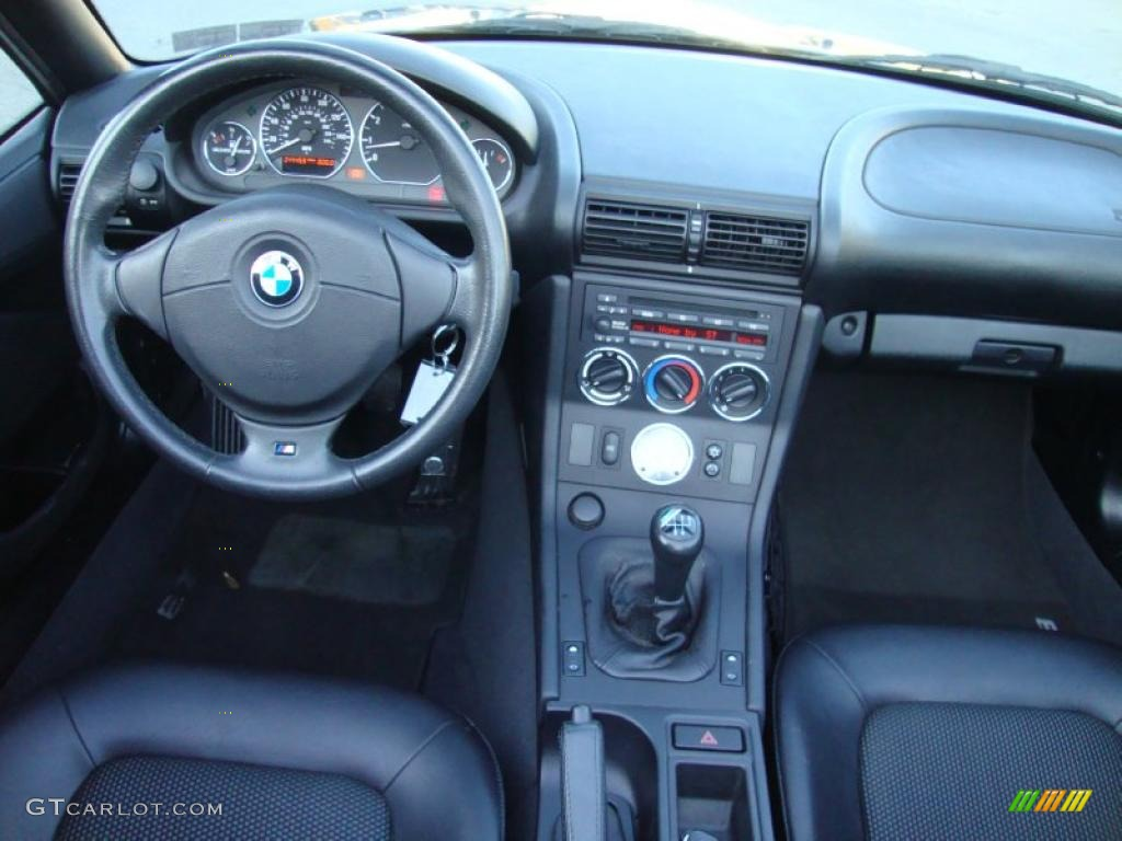 2000 Bmw Z3 2 3 Roadster Black Dashboard Photo 42338604