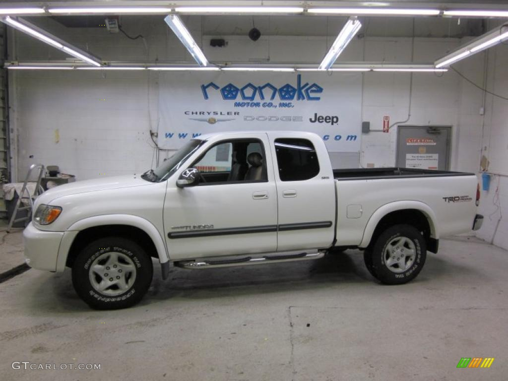 2003 Natural White Toyota Tundra SR5 TRD Access Cab 4x4 42326872