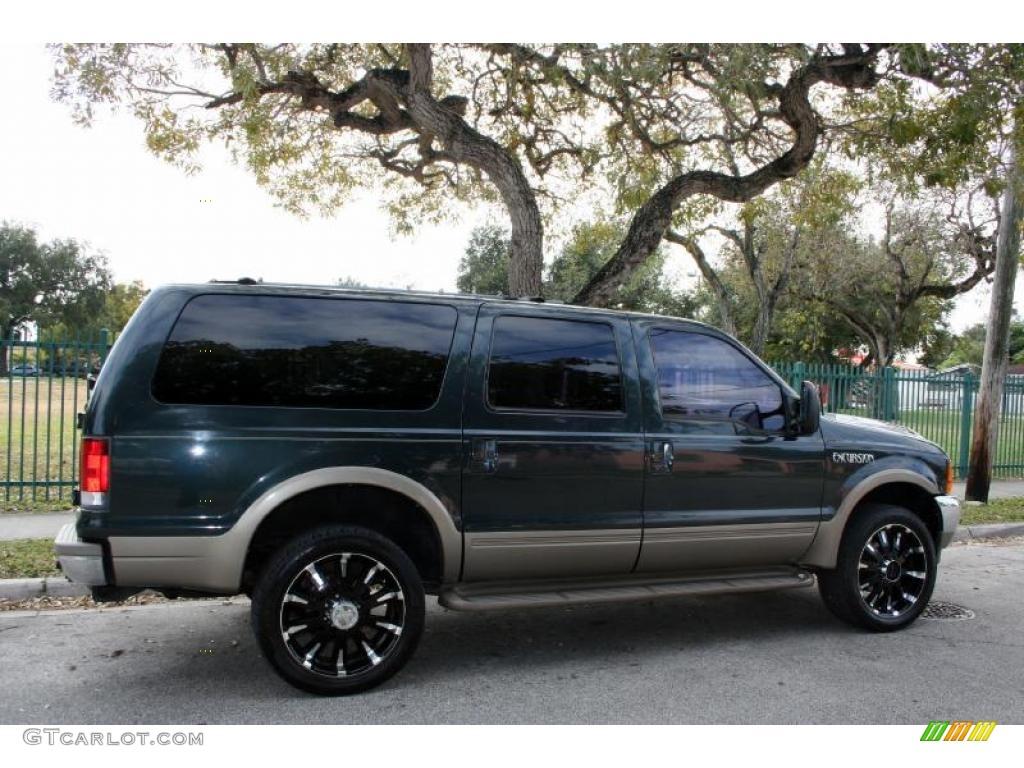 2000 Ford Excursion Limited 4x4 Custom Wheels Photo ...