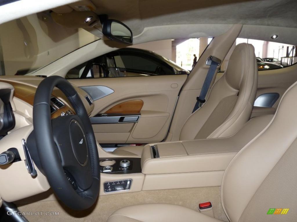 Sandstorm Interior 2011 Aston Martin Rapide Sedan Photo