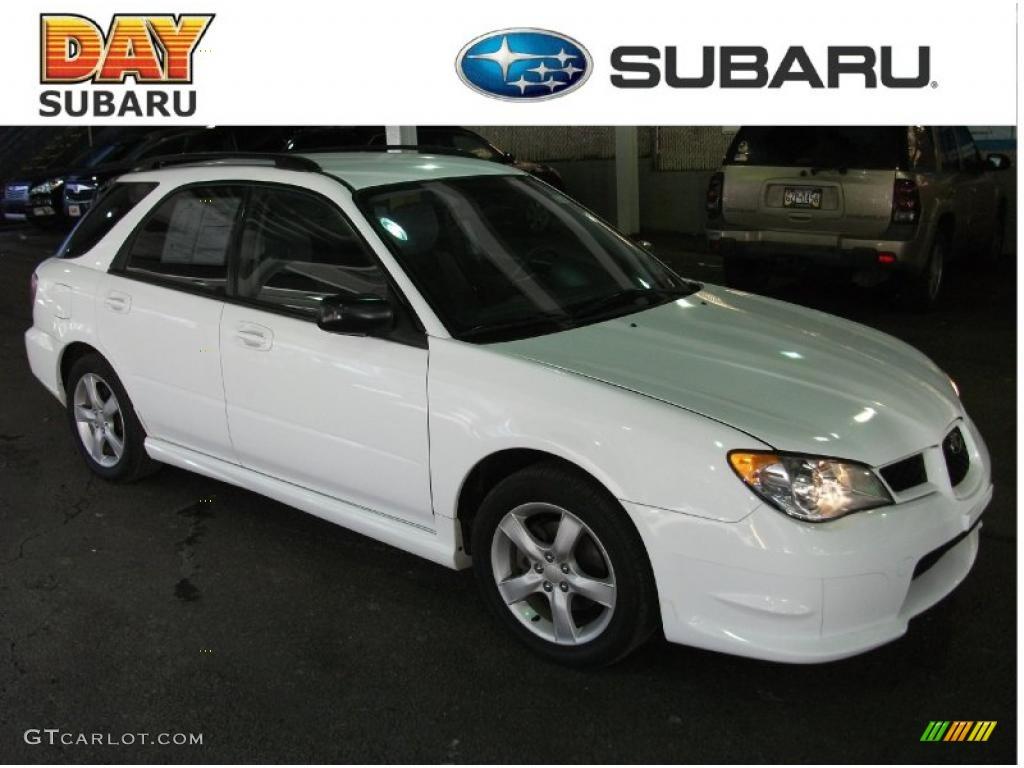 2006 Aspen White Subaru Impreza 2 5i Wagon 42326807 Gtcarlot Com Car Color Galleries