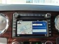 2009 Ford F250 Super Duty Camel Interior Navigation Photo