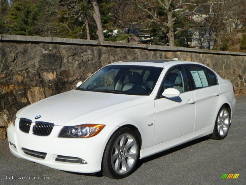 alpine white 2008 bmw 3 series 335i sedan exterior photo. Black Bedroom Furniture Sets. Home Design Ideas
