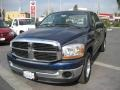 2006 Patriot Blue Pearl Dodge Ram 1500 SLT Quad Cab  photo #3