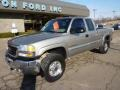 2003 Pewter Metallic GMC Sierra 2500HD SLE Extended Cab 4x4  photo #8