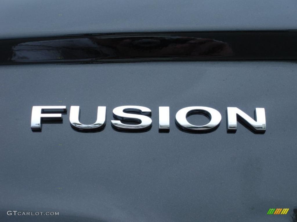 2011 Fusion S - Tuxedo Black Metallic / Medium Light Stone photo #4