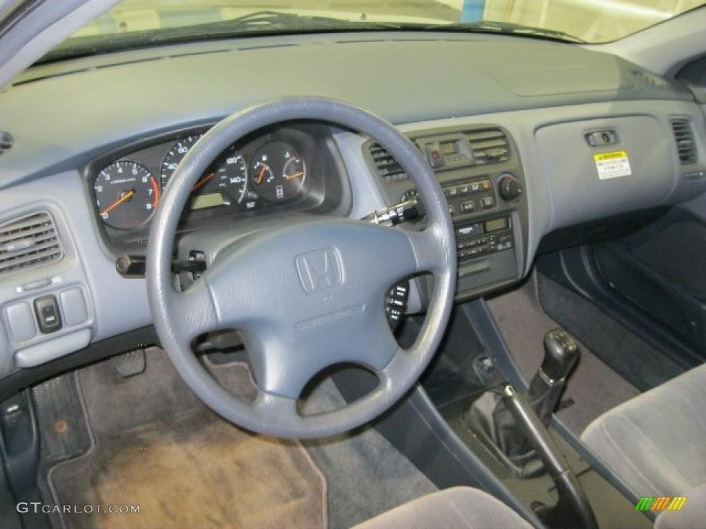 Lapis Blue Interior 1999 Honda Accord Lx Sedan Photo 42388247