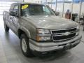 2006 Graystone Metallic Chevrolet Silverado 1500 Z71 Extended Cab 4x4  photo #1