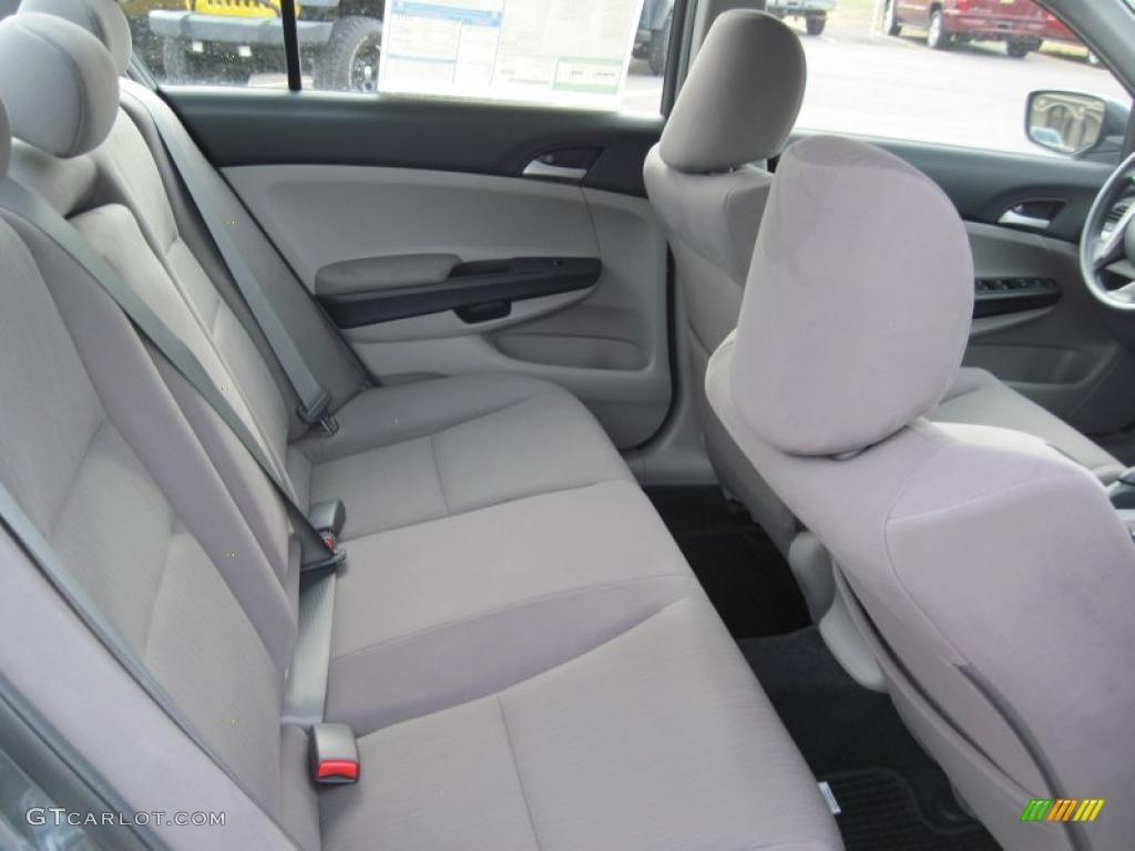 Gray Interior 2011 Honda Accord Lx P Sedan Photo 42389639