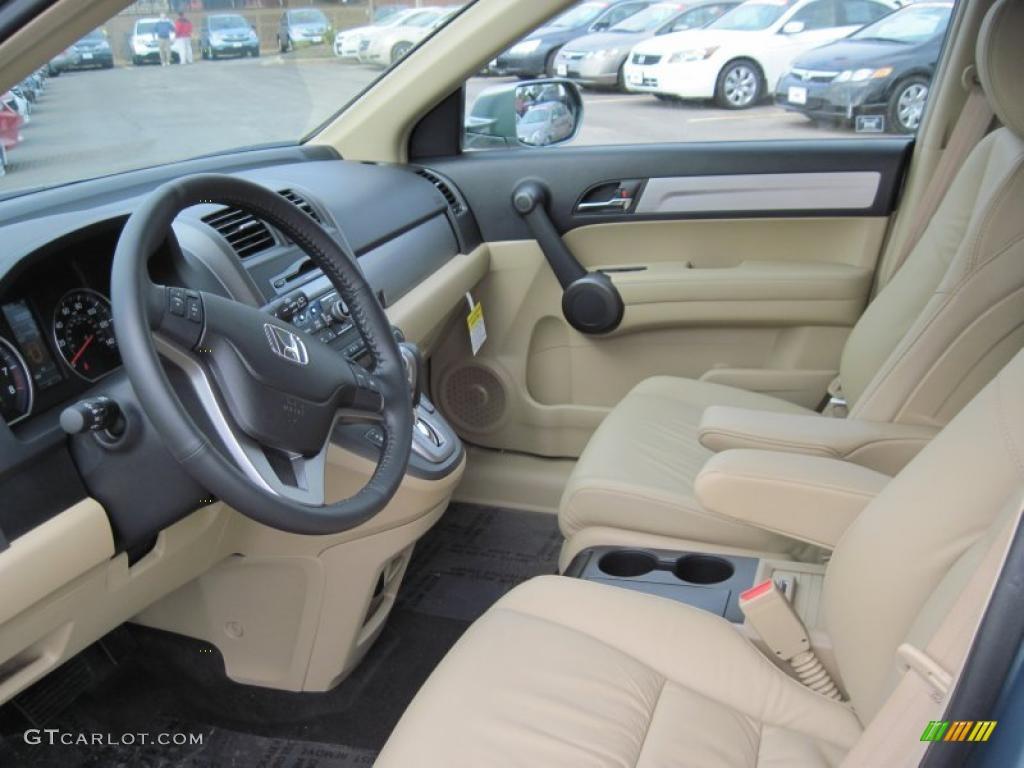 Ivory Interior 2011 Honda Cr V Ex L Photo 42389935 Gtcarlot Com