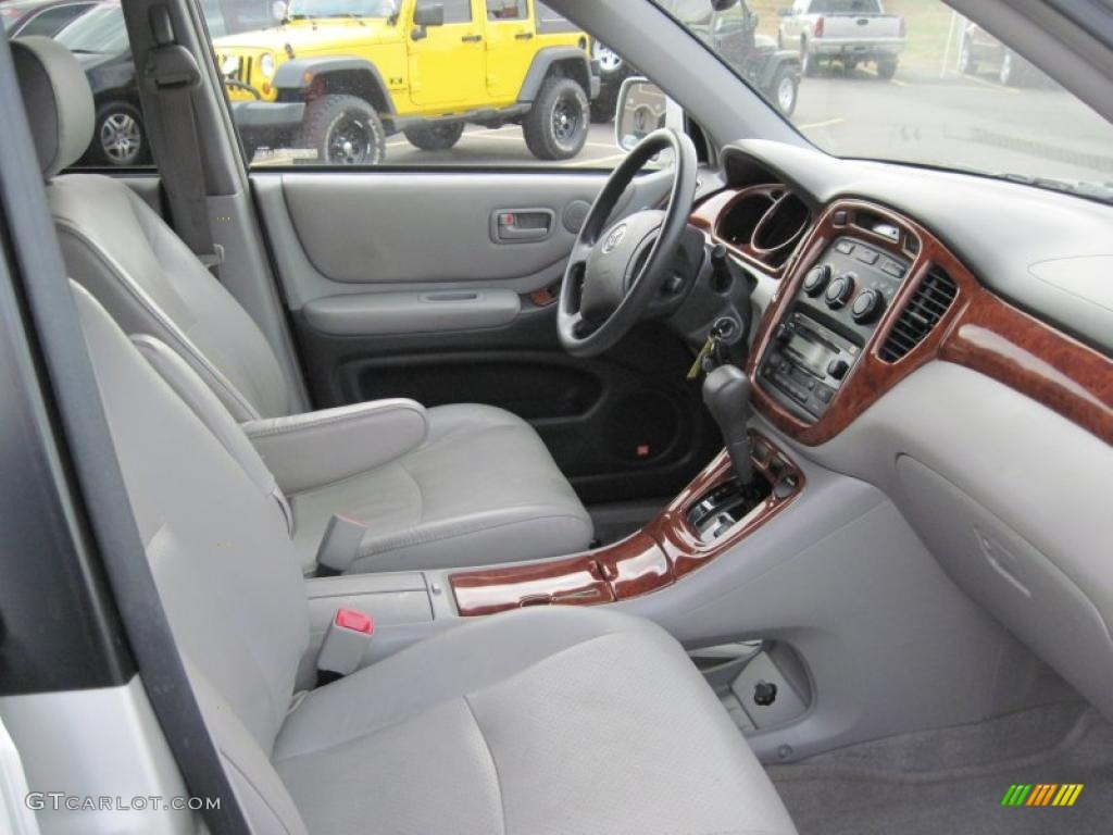 ash interior 2004 toyota highlander v6 photo 42390639. Black Bedroom Furniture Sets. Home Design Ideas