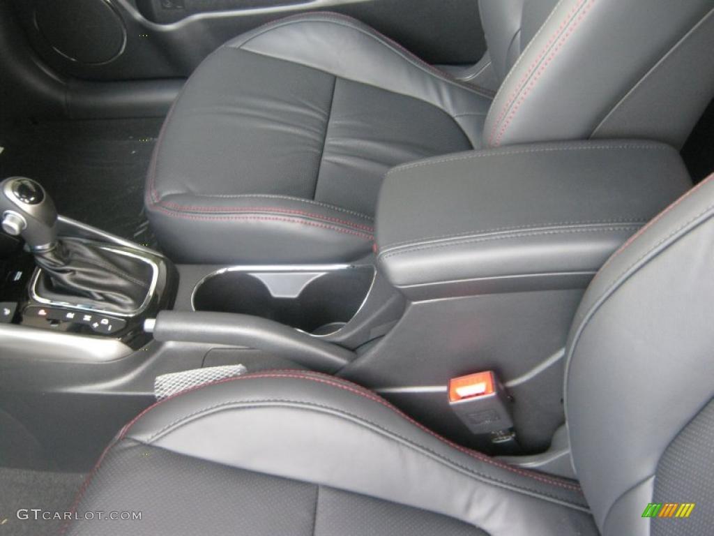 Black Sport Interior 2011 Kia Forte Koup Sx Photo 42392227