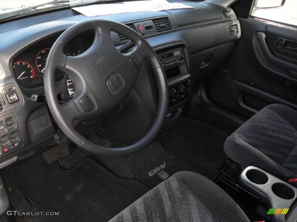 Dark gray interior 2000 honda cr v lx photo 42392591 for Interior honda crv