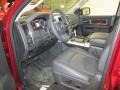 2011 Deep Cherry Red Crystal Pearl Dodge Ram 1500 Laramie Quad Cab 4x4  photo #13