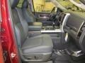 2011 Deep Cherry Red Crystal Pearl Dodge Ram 1500 Laramie Quad Cab 4x4  photo #20