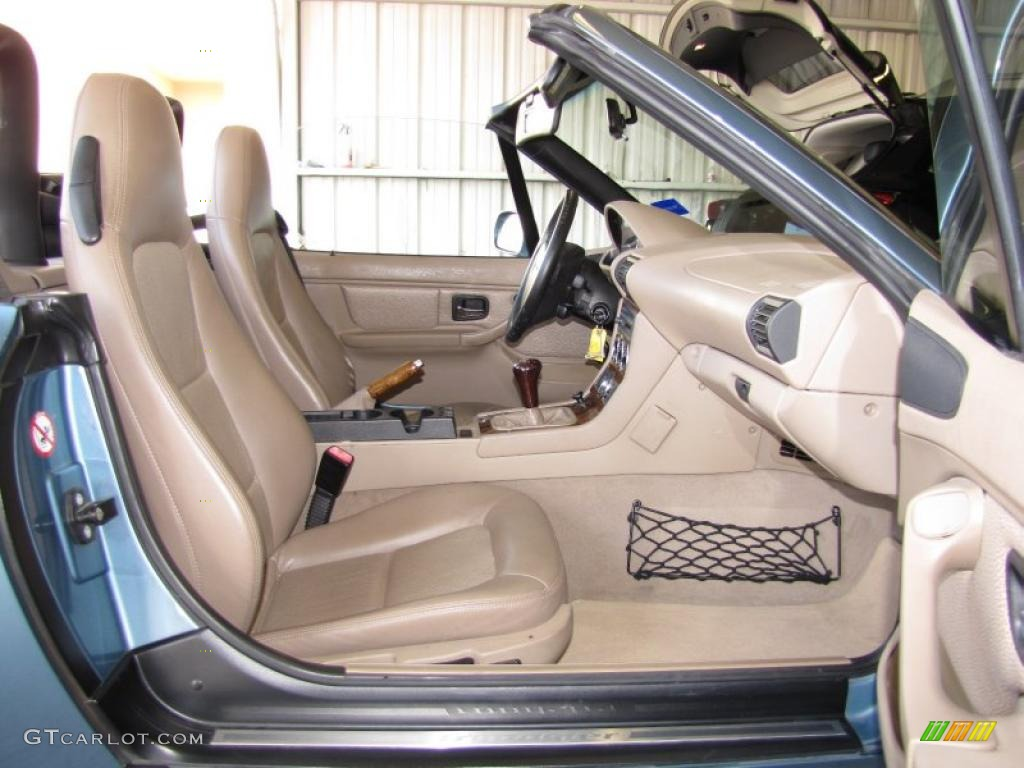 Beige Interior 2001 Bmw Z3 2 5i Roadster Photo 42411200