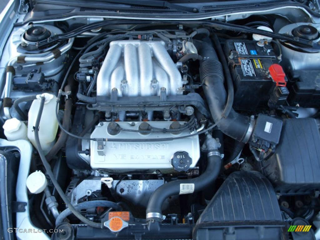 2000 Mitsubishi Eclipse GT Coupe 3.0 Liter SOHC 24-Valve V6 Engine Photo  #42414228