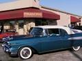 Harbor Blue 1957 Chevrolet Bel Air Convertible
