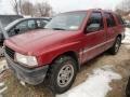 Claret Red Pearl 1997 Isuzu Rodeo S 4x4