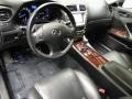 Black Prime Interior Photo for 2008 Lexus IS #42419708