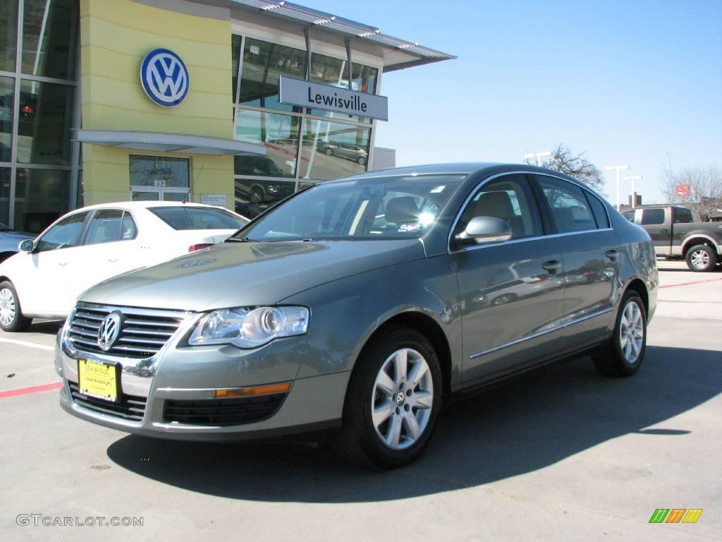 2007 granite green metallic volkswagen passat 2 0t sedan 4232160 car color. Black Bedroom Furniture Sets. Home Design Ideas