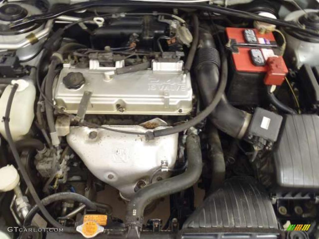 on 2002 Mitsubishi Galant Interior
