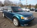 2011 Mediterranean Blue Metallic Ford Flex Limited AWD EcoBoost  photo #1