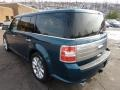 2011 Mediterranean Blue Metallic Ford Flex Limited AWD EcoBoost  photo #4