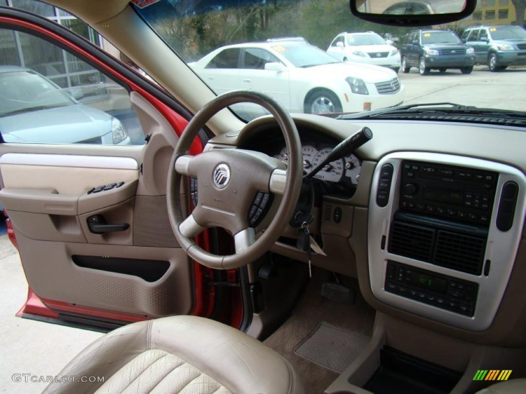 2002 Mercury Mountaineer Standard Mountaineer Model Interior Photos