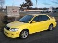 Lightning Yellow 2003 Mitsubishi Lancer Gallery
