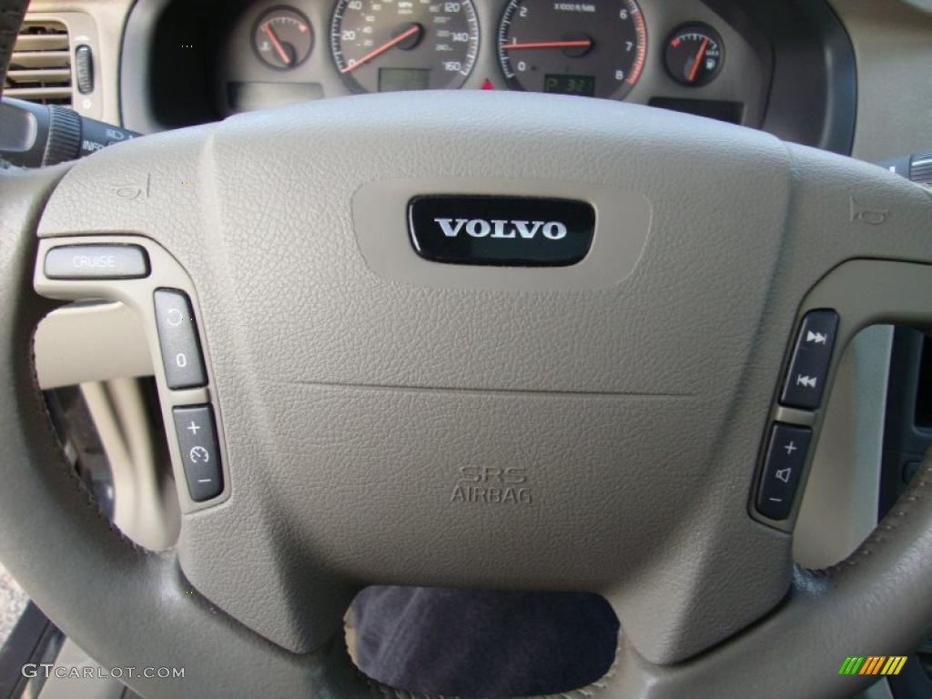 2002 volvo s80 2 9 taupe lighttaupe steering wheel photo. Black Bedroom Furniture Sets. Home Design Ideas