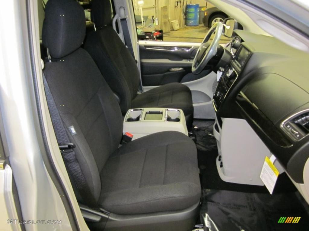 Black Light Graystone Interior 2011 Dodge Grand Caravan Mainstreet Photo 42465251