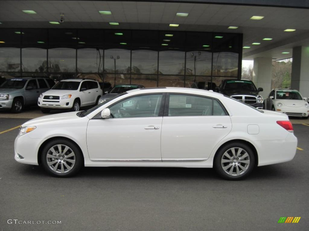 blizzard white pearl 2011 toyota avalon limited exterior. Black Bedroom Furniture Sets. Home Design Ideas