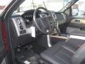 Black 2011 Ford F150 Interiors