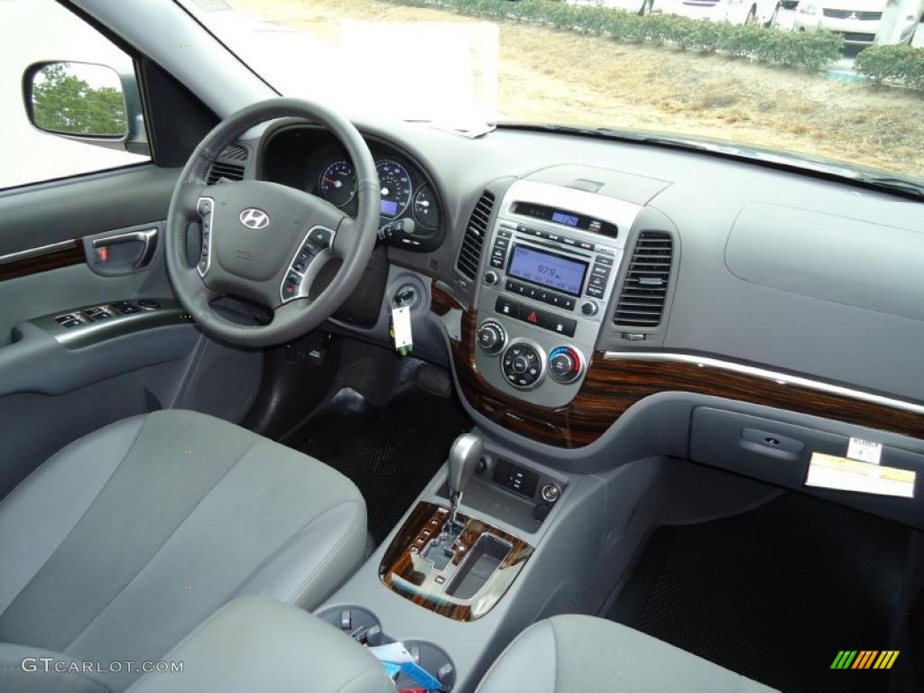2010 hyundai santa fe se interior photo 42471192. Black Bedroom Furniture Sets. Home Design Ideas