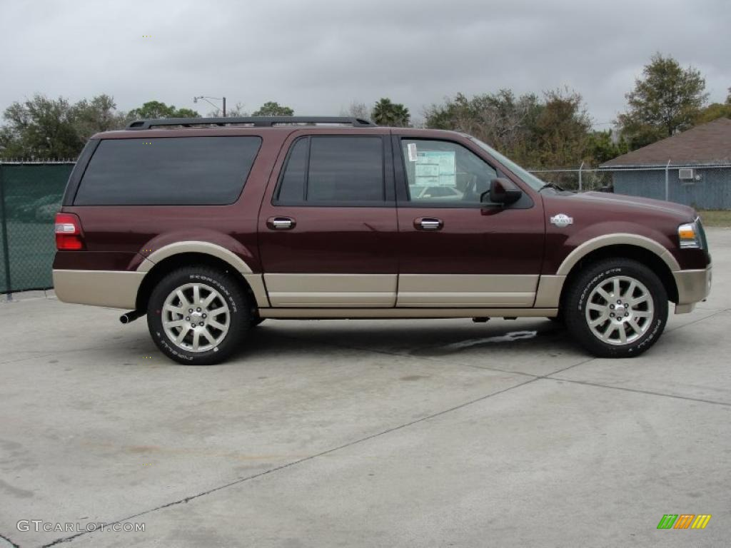 2011 royal red metallic ford expedition el king ranch 4x4. Black Bedroom Furniture Sets. Home Design Ideas
