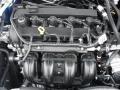 2011 Blue Flame Metallic Ford Fusion SE  photo #16