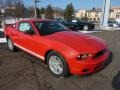 2011 Race Red Ford Mustang V6 Coupe  photo #1