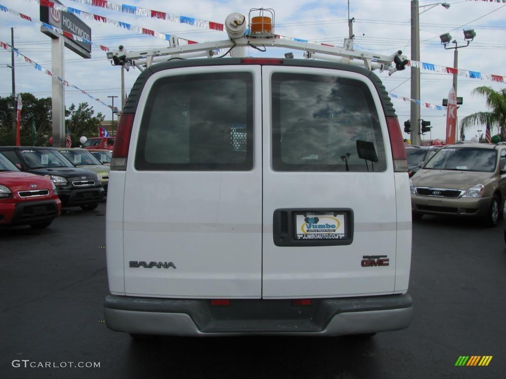 2001 Summit White GMC Savana Van 1500 Cargo #42440841 ...