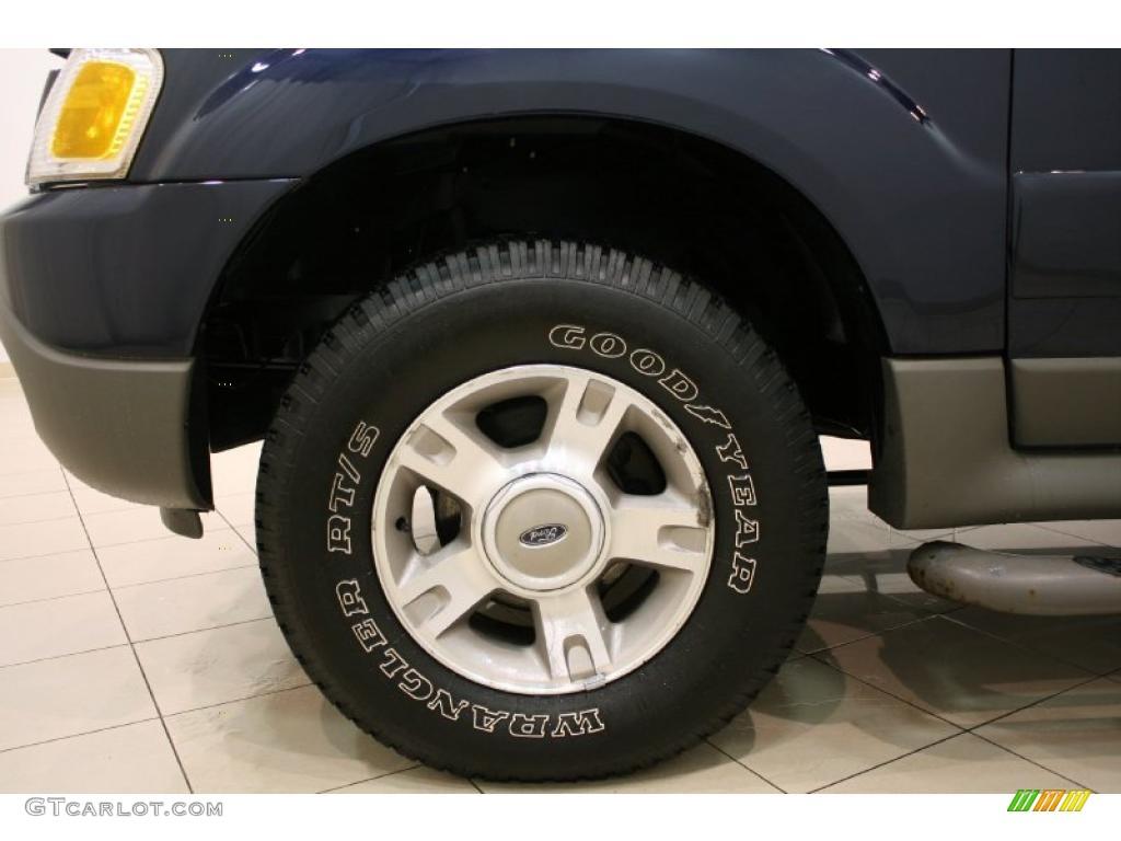 2003 Ford Explorer Sport XLT 4x4 Wheel Photo #42534267
